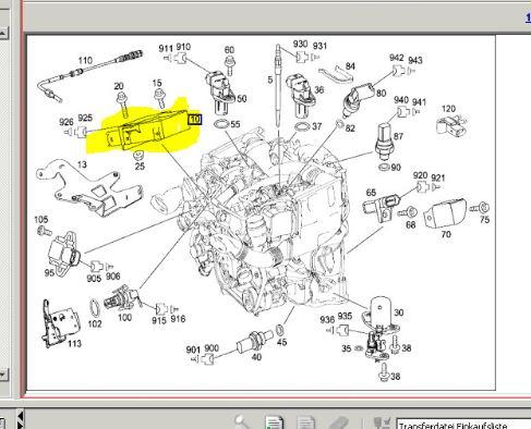 Service manual  2009 Mercedes Benz Cls Class Valve    Wiring