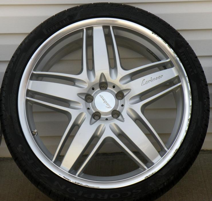 22 lorinser rs9 wheels for sale mercedes benz forum for Mercedes benz rims for sale