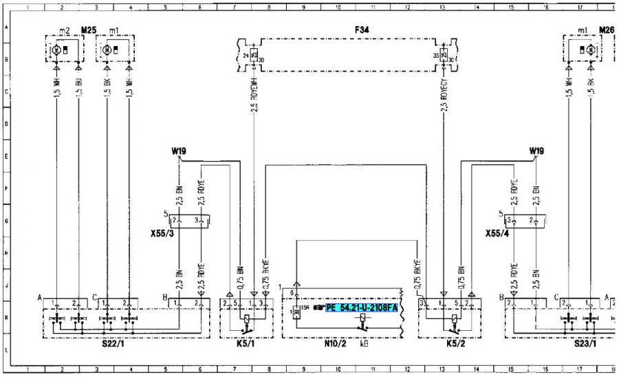 cl500 fuse box diagram w fuse relay chart mercedes benz forum w fuse ...