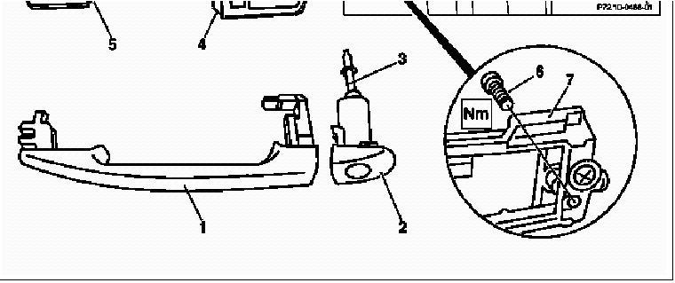 98 ml320 rear passenger side door panal removal